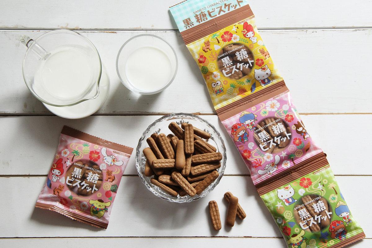 北陸- Sanrio 黑糖四連餅(15g x 4包) - That's Y You Eat